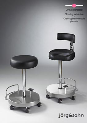 OP-rolling swivel chair
